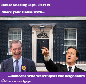House Sharing Tips Part 2: Don't upset the neighbours