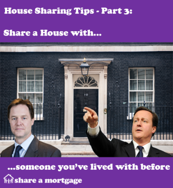 House Sharing Tips Part 3: Share with someone you know