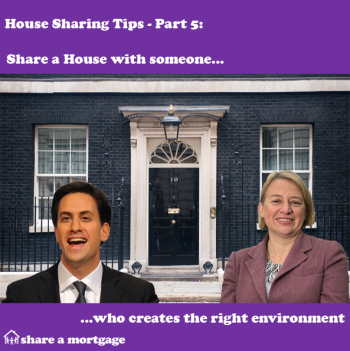 House Sharing Tips Part 5: Share with Someone who Creates the Right Environment!