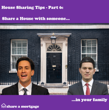 House Sharing Tips Part 6: Share with someone in your family