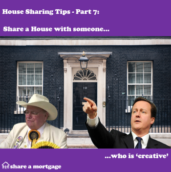 House Sharing Tips Part 7: Share with someone who is creative!