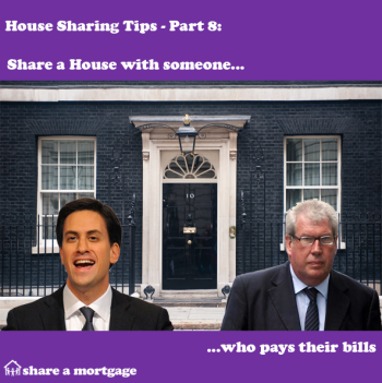 House Sharing Tips Part 8: Share with someone who pays their bills!