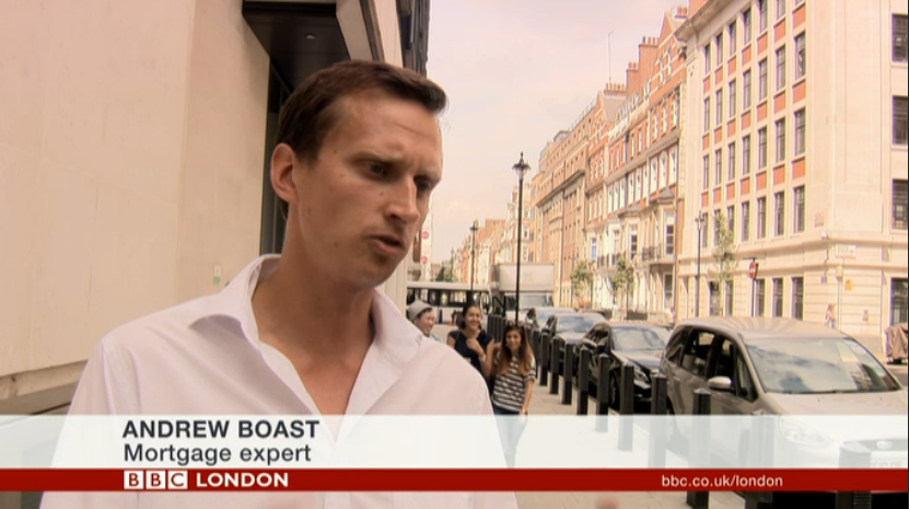 Andrew Boast on the BBC