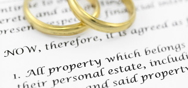 Prenuptial Agreements for Home Buyers